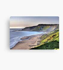 """Morning At Cayton Bay"" Canvas Print"