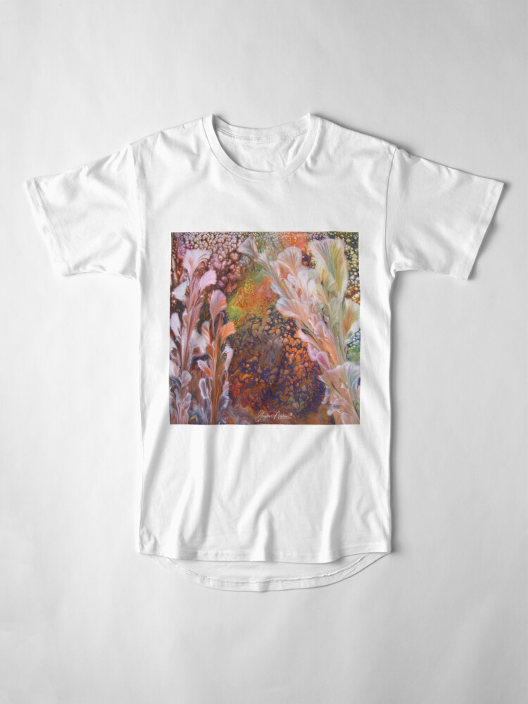Alternate view of painting for Toni Long T-Shirt
