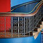 «Escalera en edificio Victoria, Sydney» de mypic