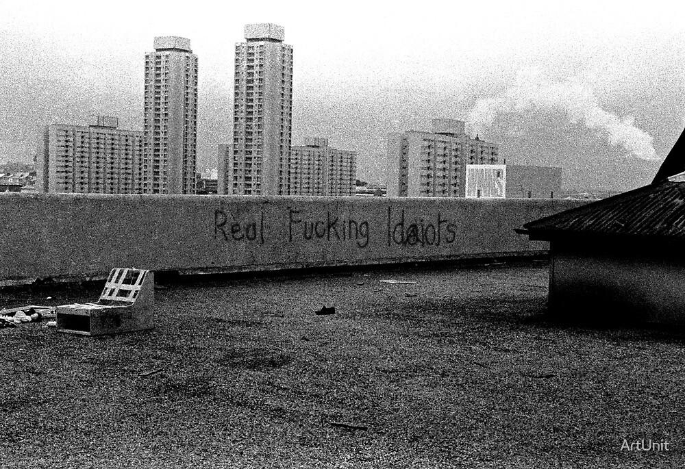 Sydney skyline circa 1982 by ArtUnit