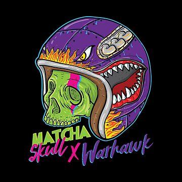 Matcha Skull Warhawk by Chocodole