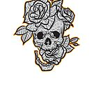 Skull & Roses by Chocodole