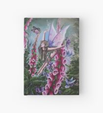 Foxglove fairy faerie fantasy Hardcover Journal