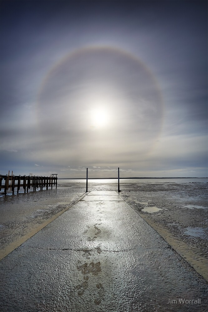 Halo - Grantville Boat Ramp by Jim Worrall