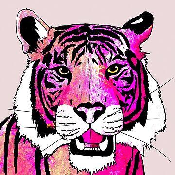 Rosa Tiger von steveswade