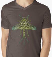 Citrine Mayfly V-Neck T-Shirt
