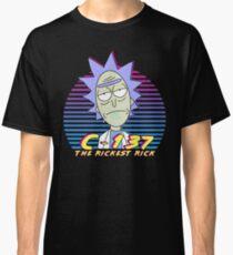 Rick and Morty - Retro 80s Neon Rick Sanchez C-137 The Rickest Rick Classic T-Shirt
