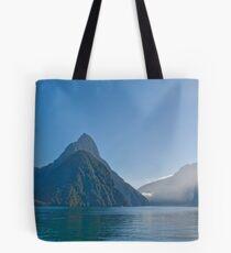 Mitre Peak - Milford Sound Tote Bag