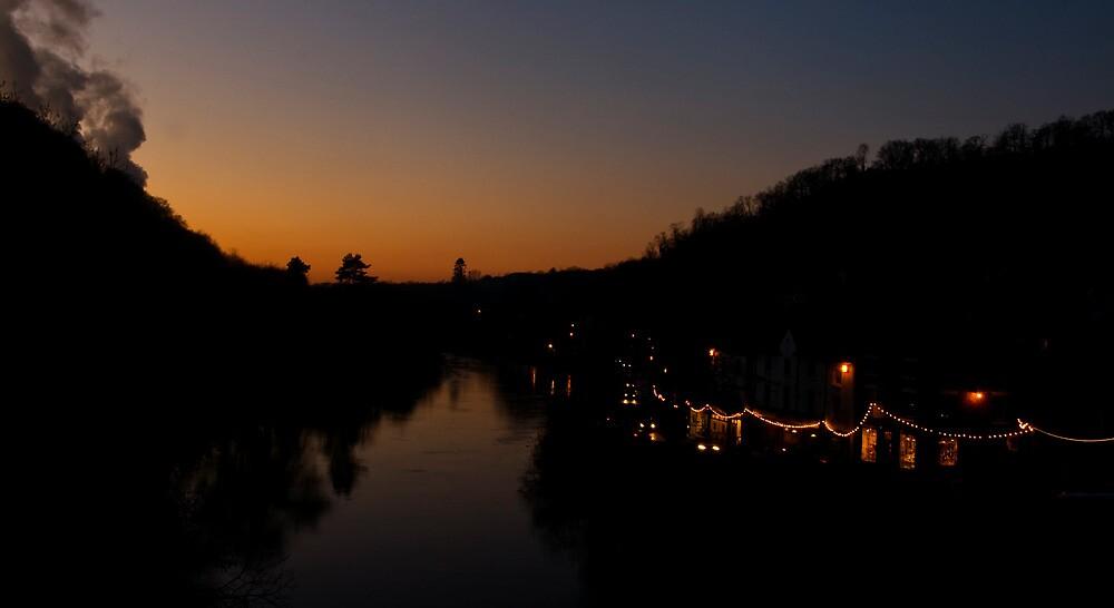 Winter Evening In Ironbridge by CheesyGoat