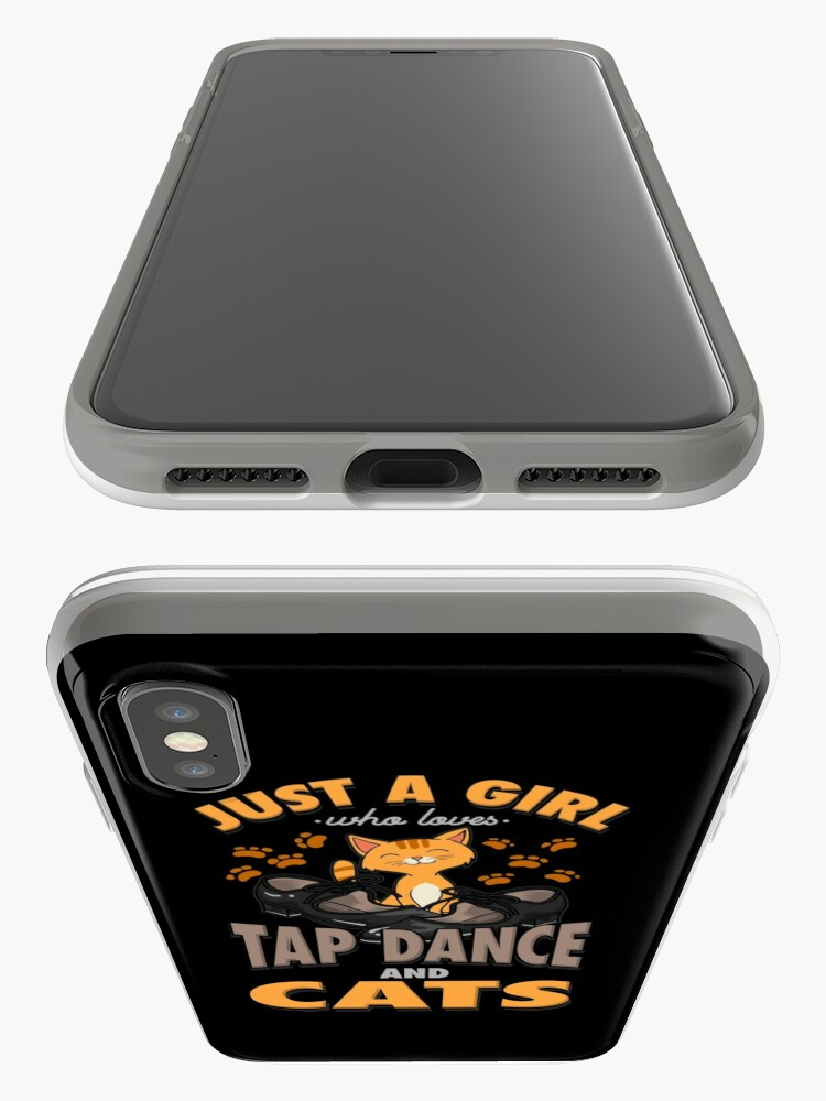 Alternate view of Tap Dance And Cats Girl Gift iPhone Case & Cover