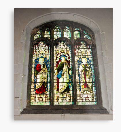 Window #1 - St Olave's Church - York. Metal Print
