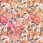 Pastell Vintage Blumenmuster von sosweet