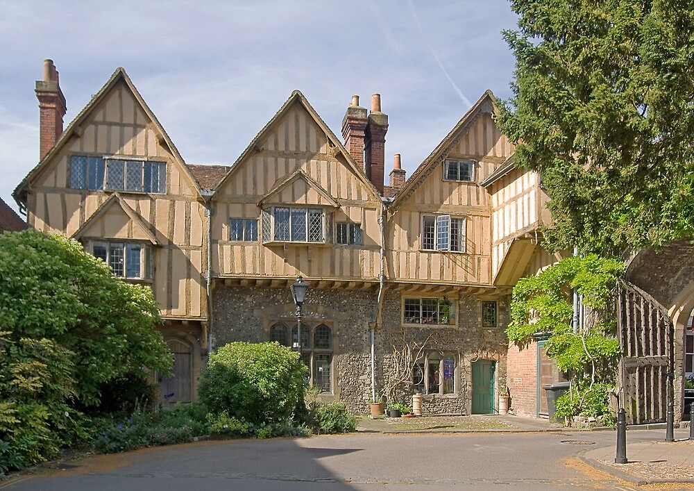 Winchester cathedral inner close
