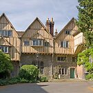 Cheyney Court, Winchester Cathedral Close, southern England by Philip Mitchell