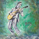 Joe Bonamassa singin' the blues by Joe Trodden