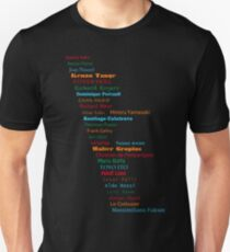 Famous Architects Unisex T-Shirt
