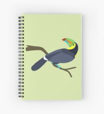 Keel-billed toucan Spiral Notebook