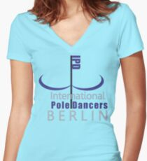 IPD - BERLIN Women's Fitted V-Neck T-Shirt