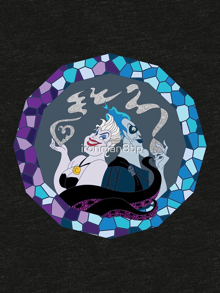 Ursula & Hades Villainous Love by ironman8bp