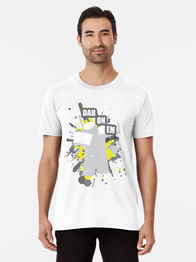 Roblox Dabbing T Shirt By Rainbowdreamer Redbubble