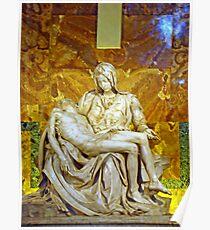 La Pieta, St. Peter's Basilica, The Vatican  Poster