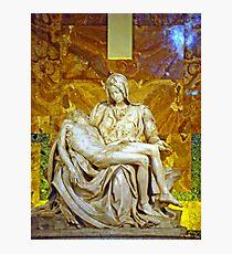 La Pieta, St. Peter's Basilica, The Vatican  Photographic Print