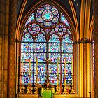 Nebenaltar im Wandelgang von Notre Dame, Paris von Erwin G. Kotzab