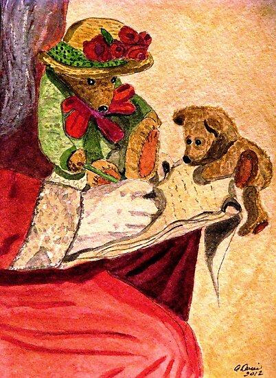 Checking Santa's List by AngieDavies