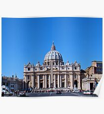 St. Peter's Square, The Vatican Poster