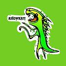 Dinosaurs say: RRROWRRR! by elledeegee