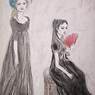 Two Friends In Mourning by Zelli
