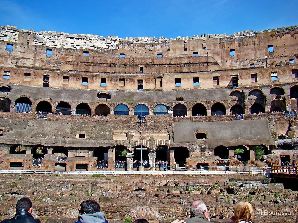Roman Colosseum II, Italy by Al Bourassa