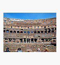 Roman Colosseum II, Italy Photographic Print