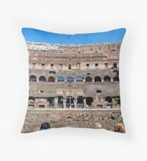 Roman Colosseum II, Italy Throw Pillow