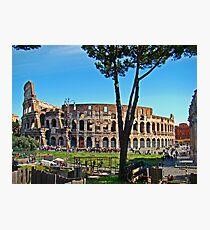 Roman Colosseum III, Italy Photographic Print