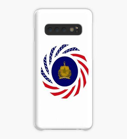 Vermont Murican Patriot Flag Series Case/Skin for Samsung Galaxy