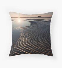 Crantock Patterns Throw Pillow