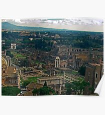 Ancient Rome, Italy Poster