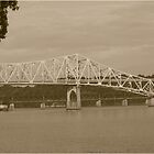 O'Neal Bridge Florence, Alabama by DebbieCHayes