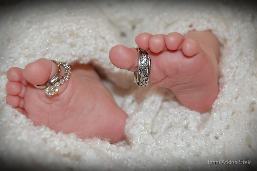 Baby feet by Jenni Atkins-Stair