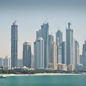 Dubai Day Scape by ill-tempered