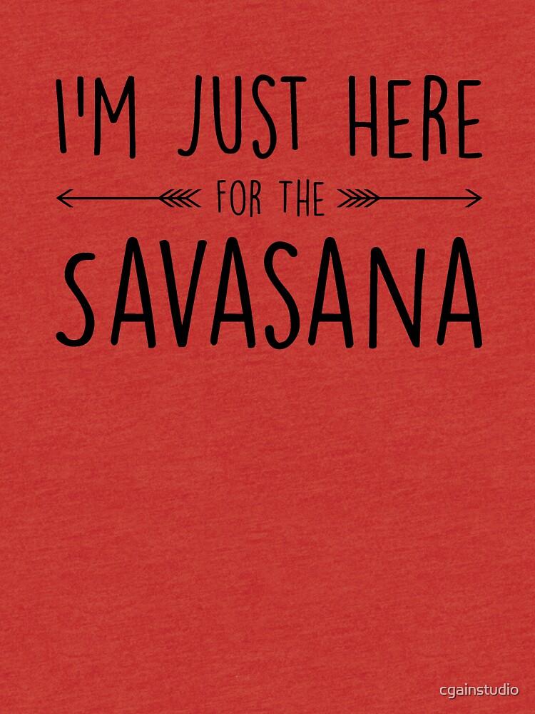 Ich bin nur hier für die Savasana von cgainstudio