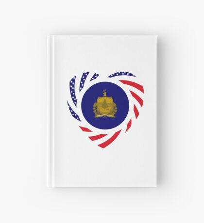 Vermont Murican Patriot Flag Series Hardcover Journal
