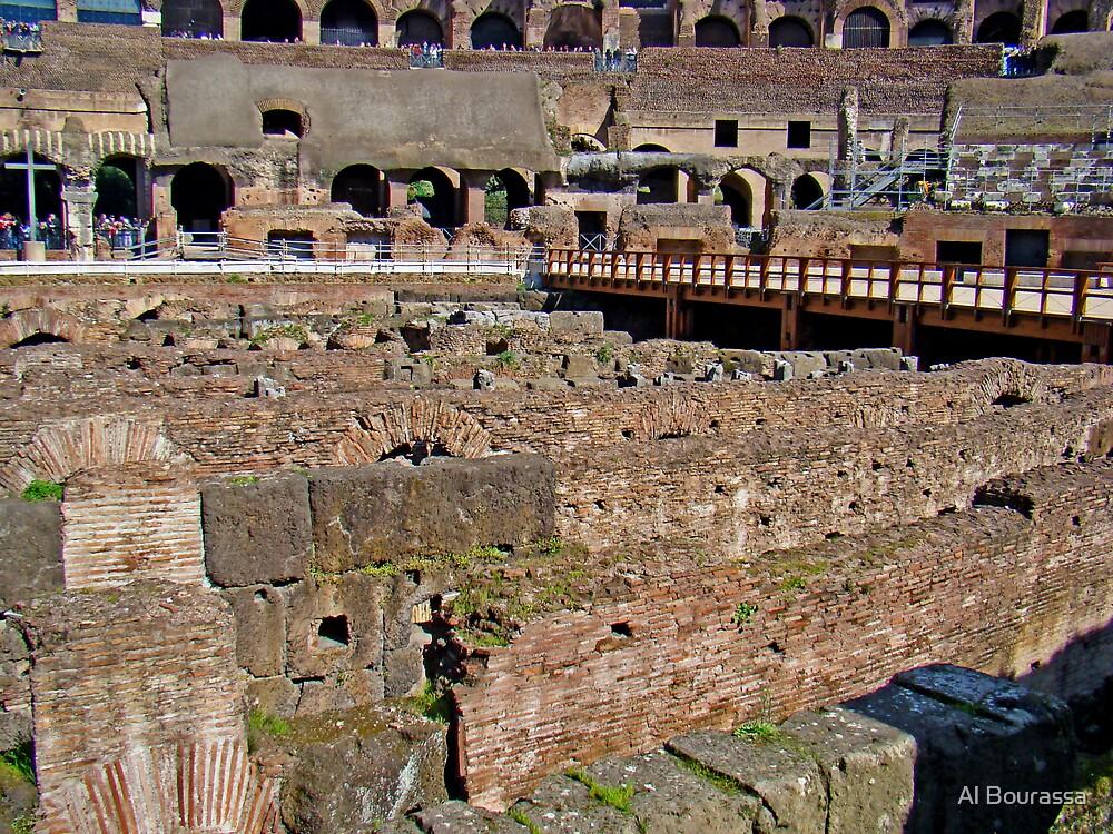 Where Lions Rome by Al Bourassa