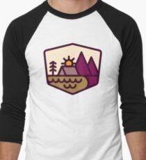 Camiseta ¾ estilo béisbol Amante de la naturaleza