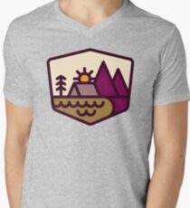 Nature Lover Men's V-Neck T-Shirt