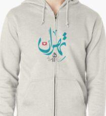 Tehran Zipped Hoodie