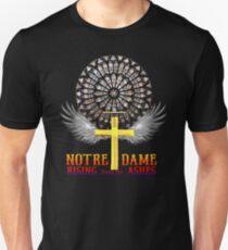 Notre Dame Rose Window Slim Fit T-Shirt