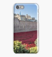 Tower Of London Poppies iPhone Case/Skin