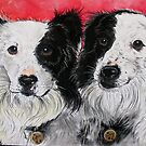 Peekay & Rafter by Sally Ford